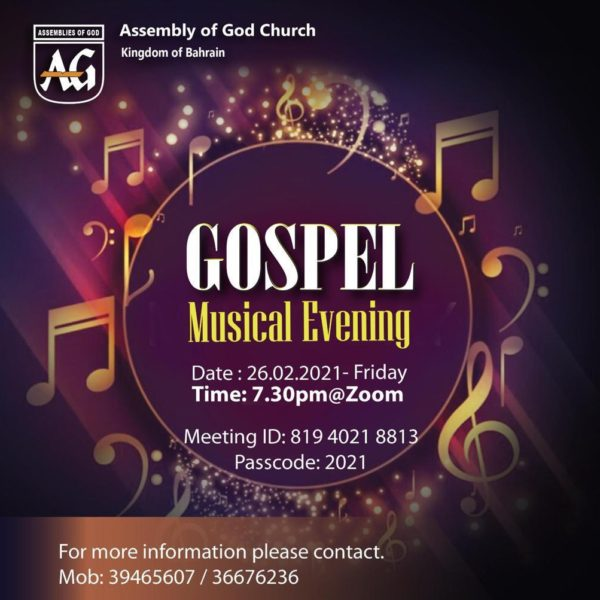 Gospel Musical Evening